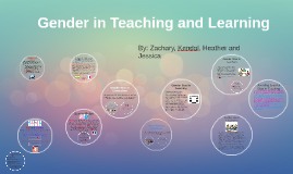Gender in Teaching and Learning