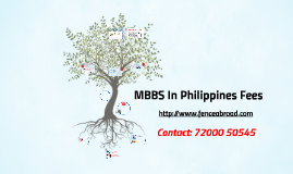 MBBS In Philippines Fees