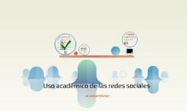 uso académico de las redes sociales en universitarios