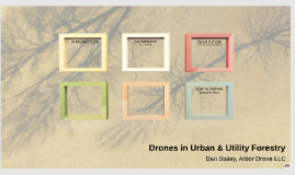 Drones in Urban & Utility Forestry