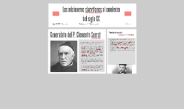 Los misioneros claretianos al comienzo del siglo XX