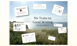 Copy of Six Traits of Writing