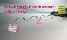Método de avaliação de impacto ambiental - Modelo de Simulaç