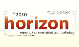 Horizon Report 2010