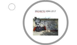 PROYECTO IDRA 2017