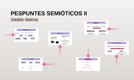 PESPUNTES SEMIÓTICOS II