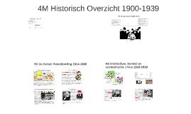 4M Historisch Overzicht 1900-1939
