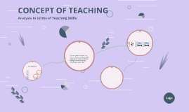 Copy of       CONCEPT OF TEACHING