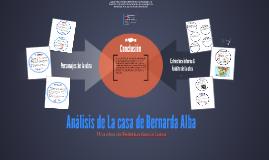 Analisis de Casa de Bernarda Alba