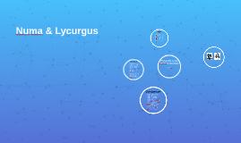 Plutarch: Numa & Lycurgus