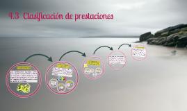 Copy of 4.3  Clasificación de prestaciones