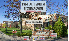 Pre-Health Center Overview + tips