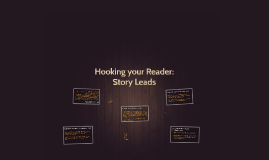 Hooking your Reader: