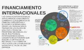 FINANCIAMIENTO INTERNACIONALES