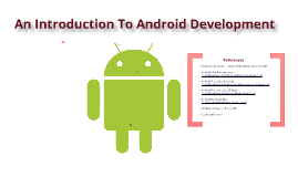An Introduction To Android Development