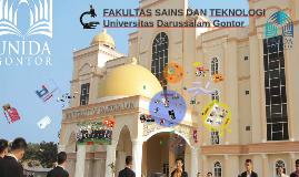 Profil Fakultas Sains dan Teknologi UNIDA Gontor