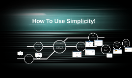 How To Use Simplicity!