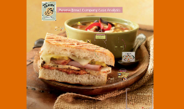 panera bread case analysis All companies must have a strategic plan how well the strategy succeeds is based on the competitive strategy plan a competitive strategy is defined as the.