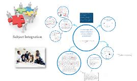 Copy of Subject Integration