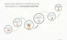EDAD DEL INFANTE AVANCE EN EL DESARROLLO  SENSORIO MOTOR