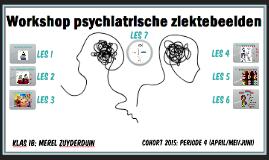 2017 Workshop psychiatrische ziektebeelden