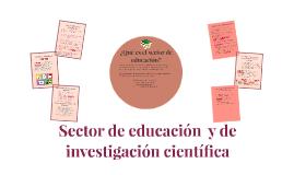 sector de educacion  h