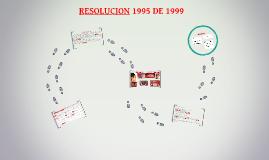 RESOLUCION 1995 DE 1999