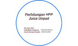 Perhitungan HPP