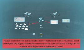 ¿Cuáles son los factores institucionales internos y externos