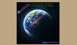 Les avions et leurs connections avec les propriétés des composés