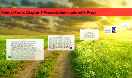 Animal Farm: Chapter 3 Presentation