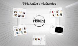 Biblia hatása a művészetekre