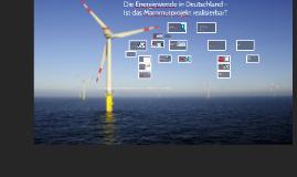 Kopie von Die Energiewende in Deutschland - Ist das Mammutprojekt realisierbar?
