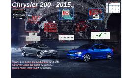 Chrysler 200 - 2015.