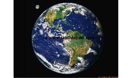 Copy of Sustentabilidad del agua en México