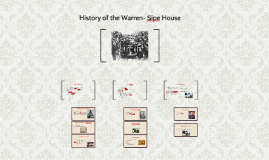 History of the Warren- Sipe House