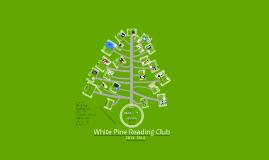 White Pine Book Presentation 2013-2014