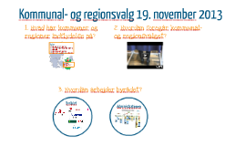 Kommunal- og regionsvalg