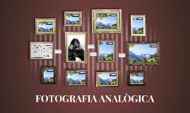 FOTOGRAFIA ANALÒGICA