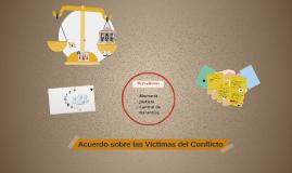 Acuerdo sobre las víctimas
