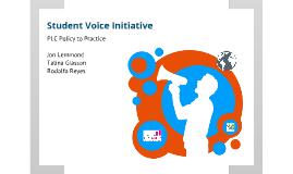 Student Voice Initiative