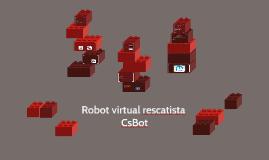 Robot virtual rescatista - CsBot