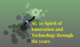 SG 50 Spirit of Innovation and Technology through the years
