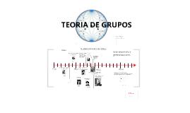 Copy of Historia sobre surgimiento de la teoría de Grupos