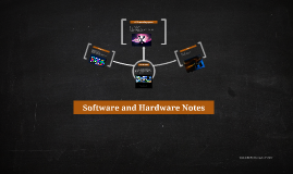 Software and Hardware Notes