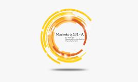 Marketing 101 CM - A