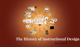 The History of Instructional Design