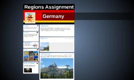 Regions Assignment