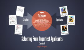 Selecting From Imperfect Applicants