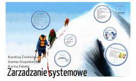 Zarządzanie Systemowe